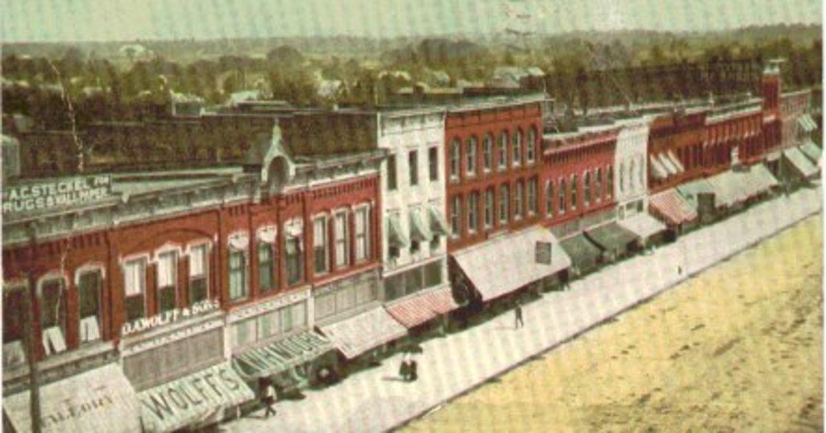 Bryan, Ohio in 1910 (public domain)
