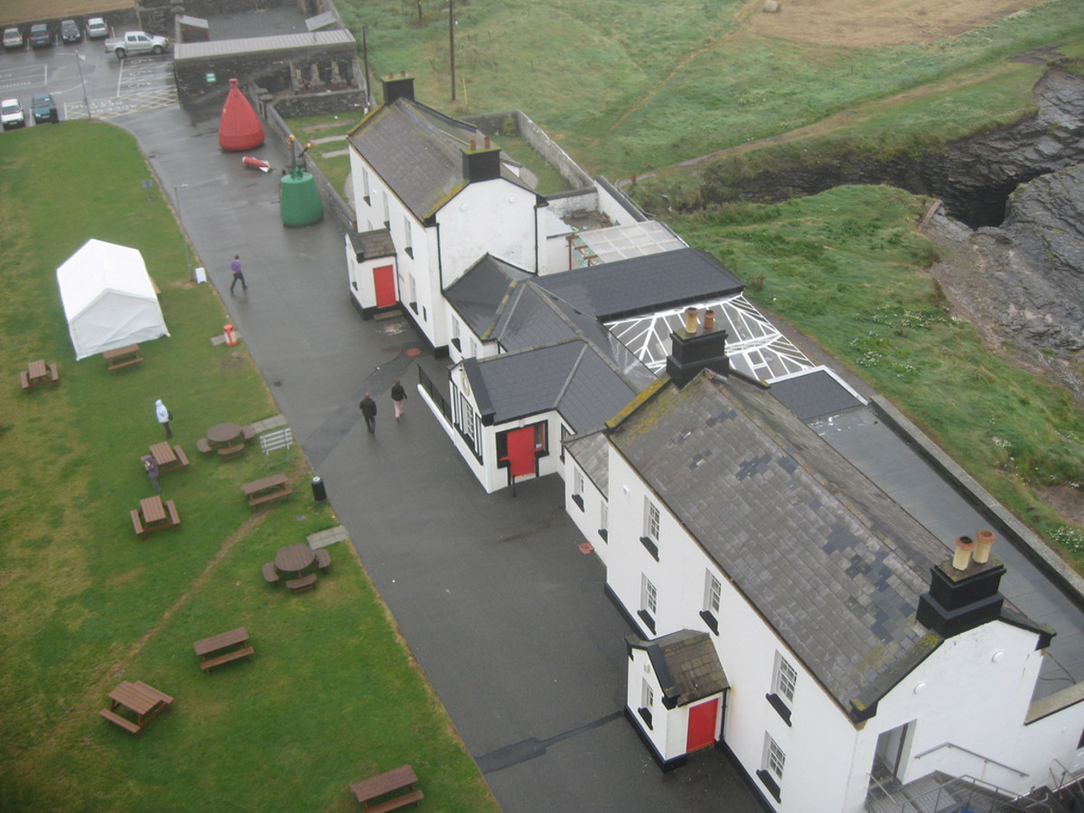 Hook Head Lighthouse - keeper's house