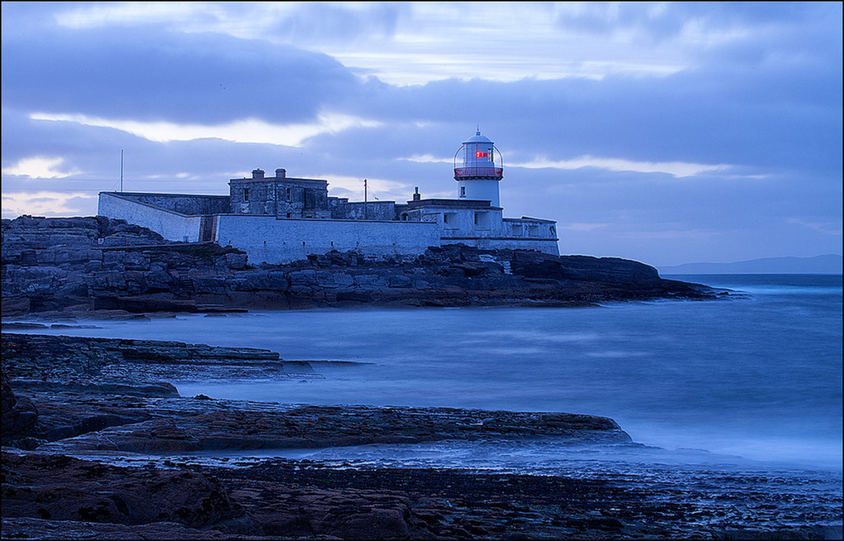 Cromwell Point Lighthouse Ireland