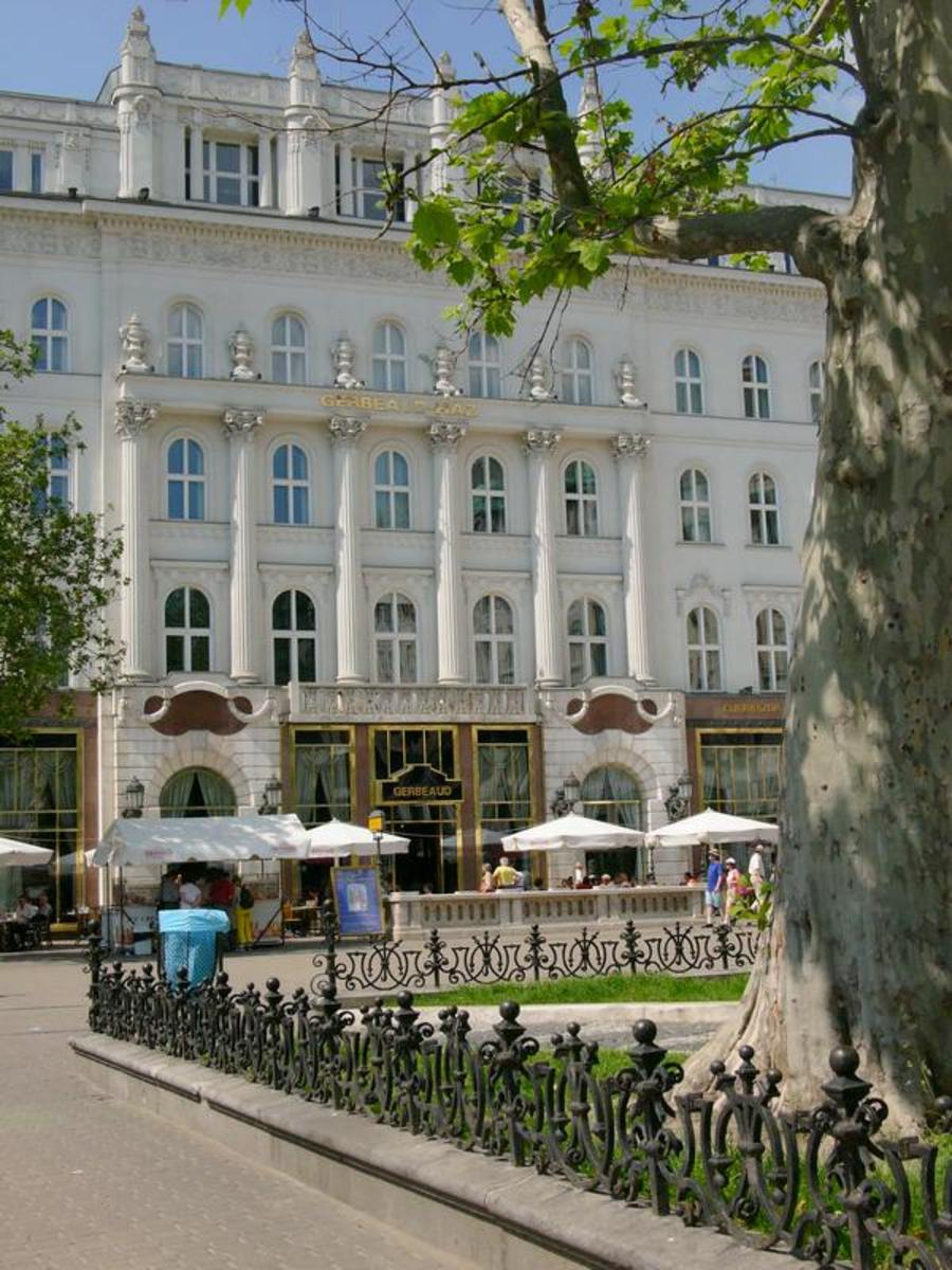 Cafe Gerbeaud in Budapest