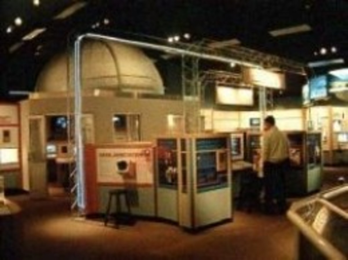 The Visitor Center At Lowell Observatory