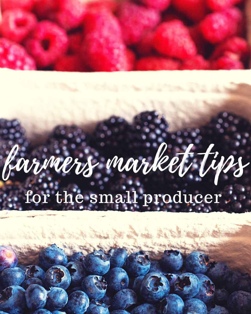 If you run a small-scale gardening or farming operation, these tips should help you find some success at farmers markets.