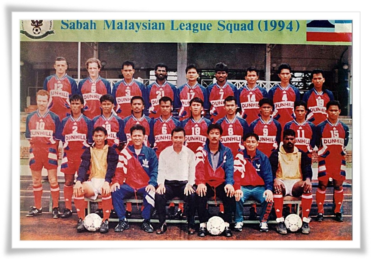 Sabah FA, one of the early teams in the Malaysian Premier League in 1994.
