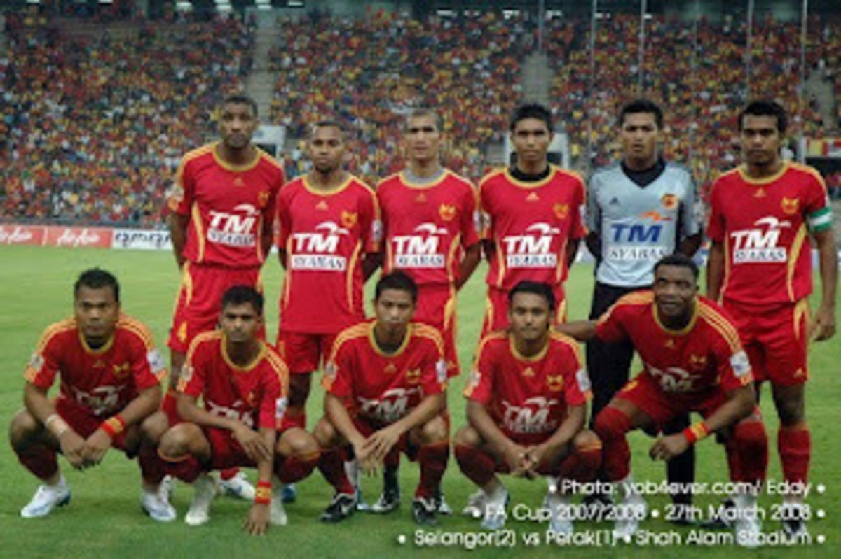 Selangor FA, one of the top teams during the early Malaysian Super League era.