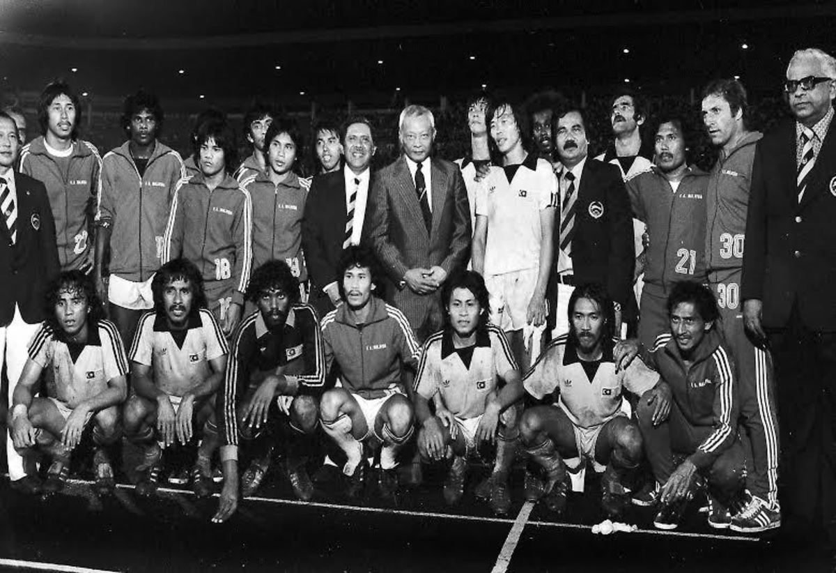 The early days of structured football in Malaysia.