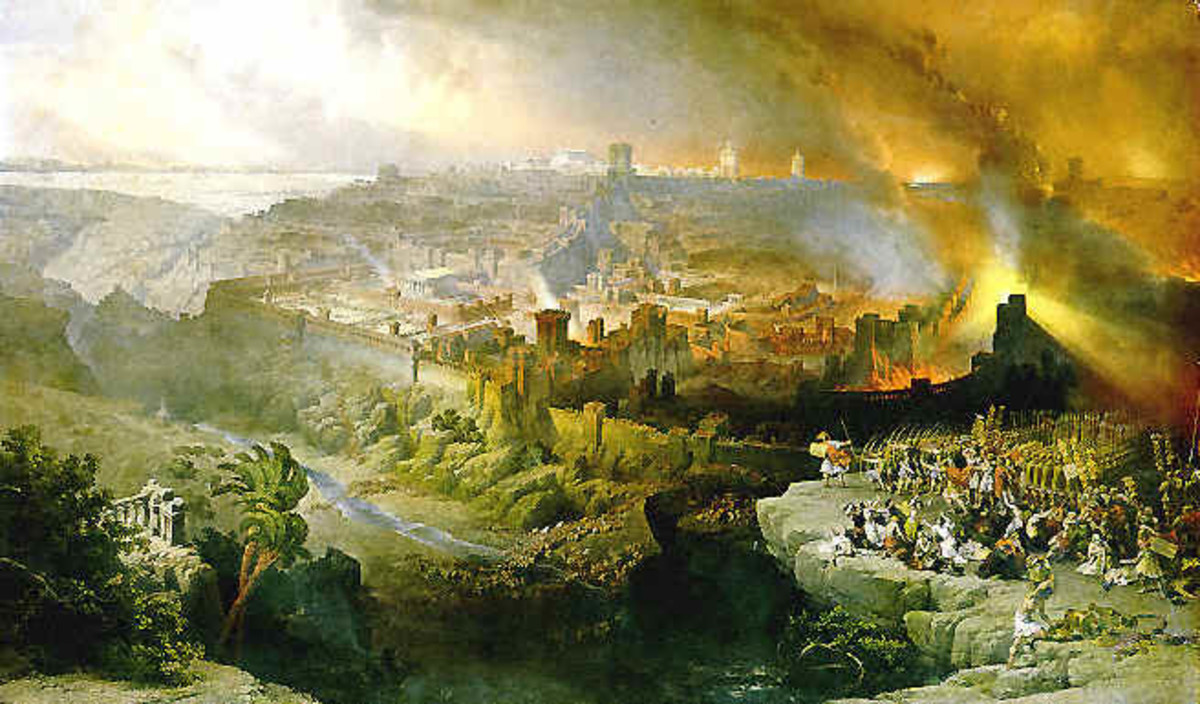 DESTRUCTION OF JERUSALEM 70 AD