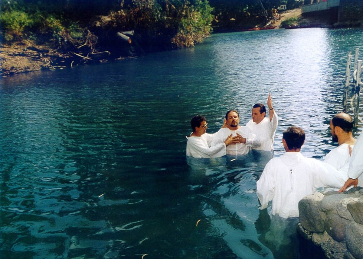 ADULT BAPTISM IN LIVING WATERS