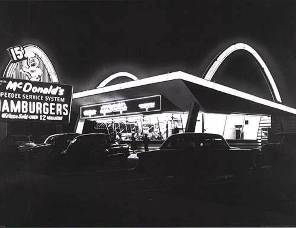 THE FIRST MCDONALDS
