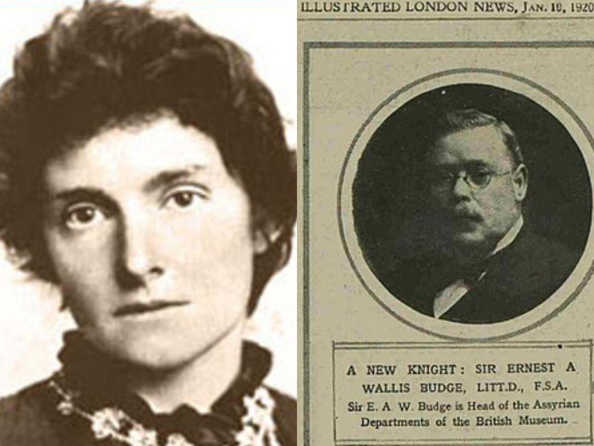 Edith Nesbit and Ernest A. Wallis Budge